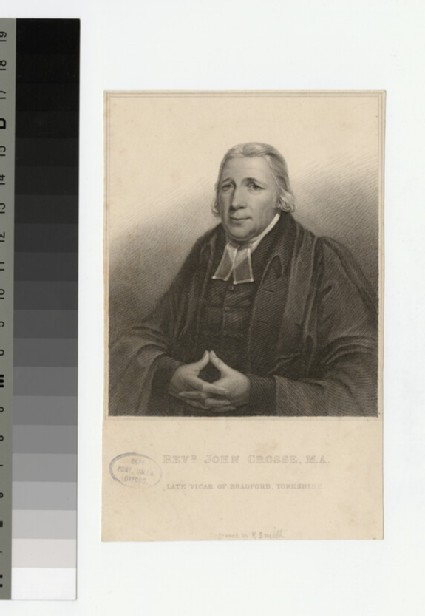 Portrait of Revd John Crosse