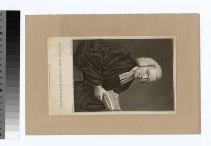 Portrait of Revd Sir J. Cullum