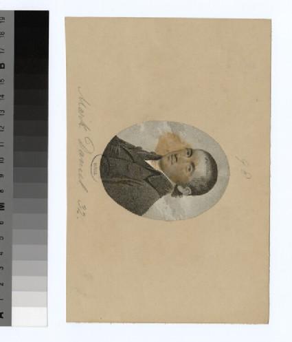 Portrait of M. Daniel