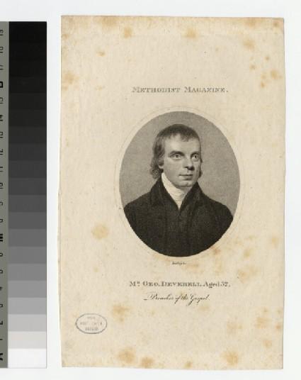 Portrait of G. Deverell