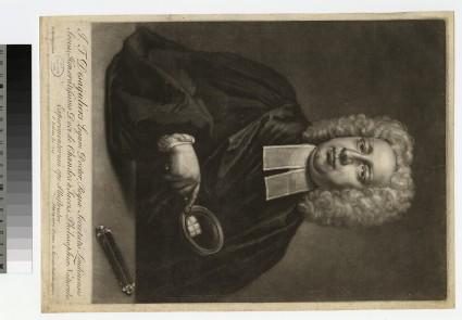 Portrait of J. T. Desaguliers