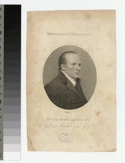 Portrait of G. Dermott