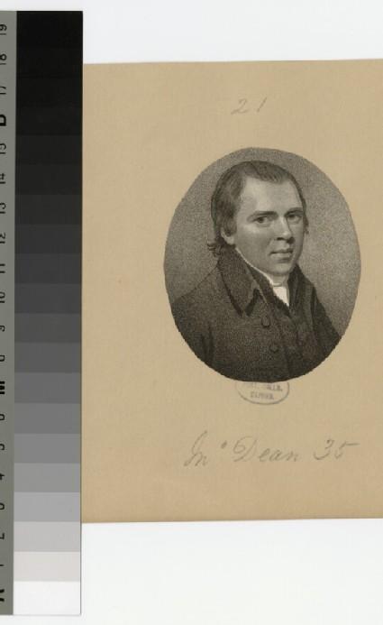 Portrait of M. Dean