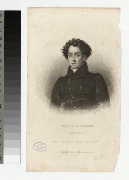 Portrait of J. P. Dobson