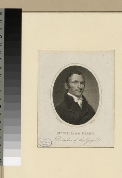 Portrait of W. Dixon