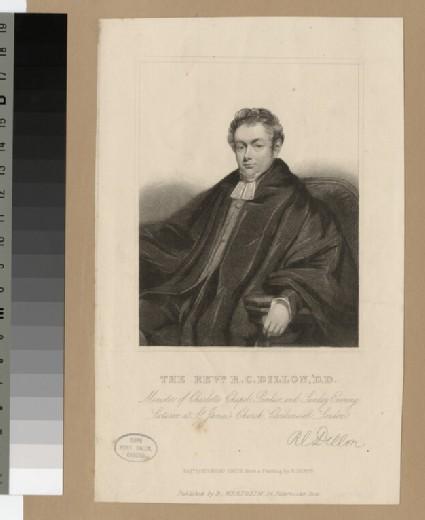 Portrait of Robert Crawford Dillon