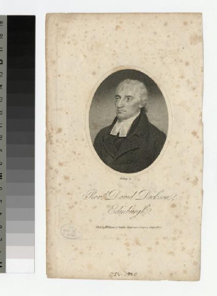 Portrait of D. Dickson