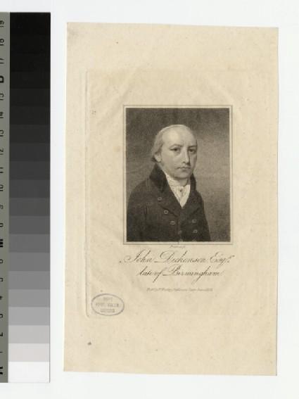 Portrait of J. Dickenson