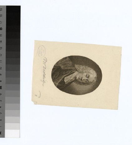 Portrait of P. Doddridge