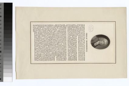 Portrait of Philip Doddridge