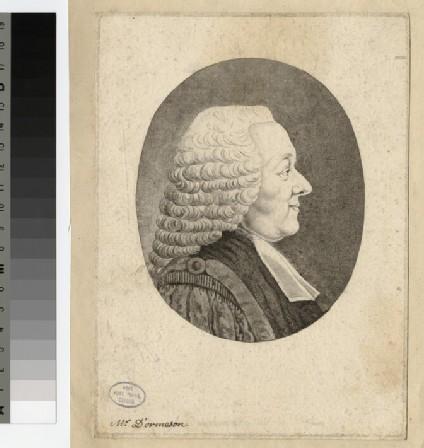 Portrait of Mr Dormeson