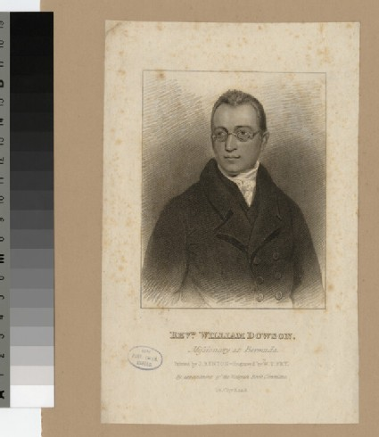 Portrait of W. Dowson