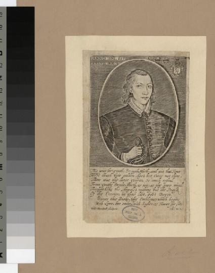 Portrait of J. Donne