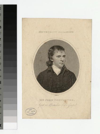 Portrait of J. Doncaster