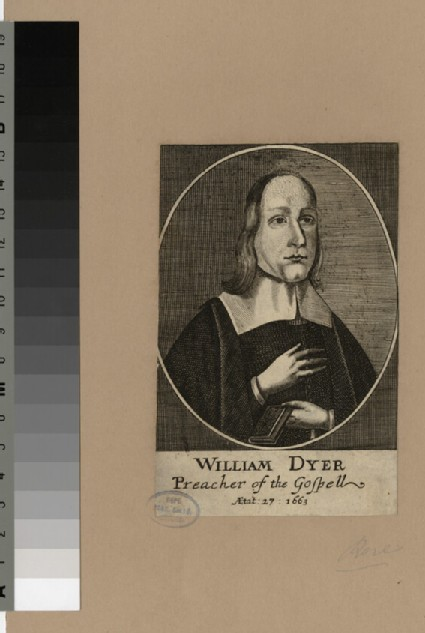Portrait of W. Dyer