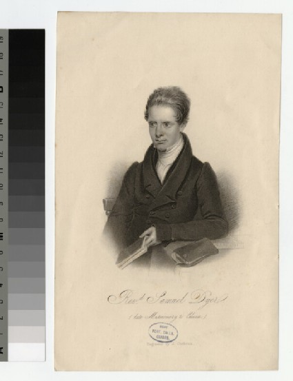 Portrait of S. Dyer