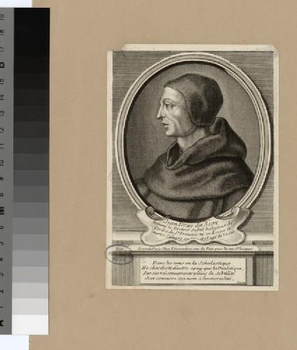 Portrait of Duns Scotus