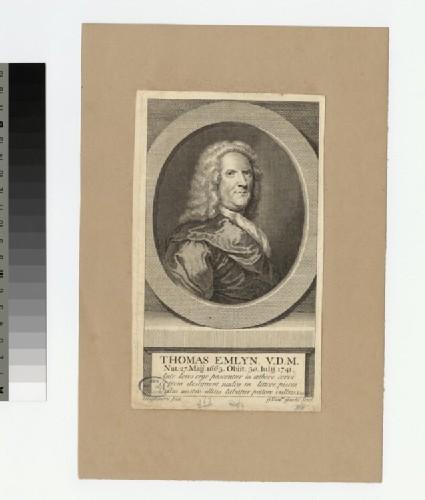 Portrait of T. Emlyn