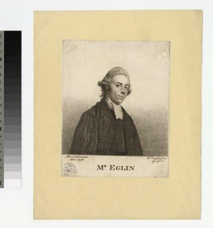 Portrait of Mr Eglin