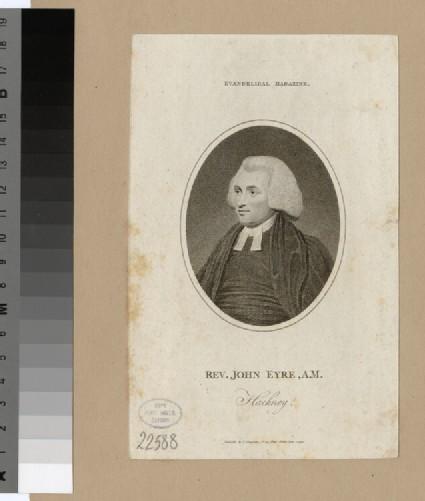 Portrait of J. Eyre