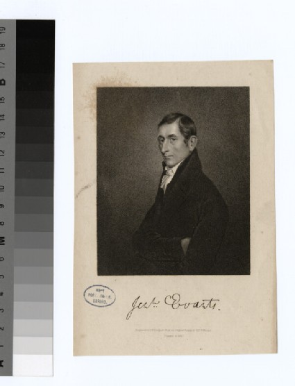 Portrait of J. Evarts
