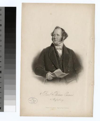 Portrait of T. Evans