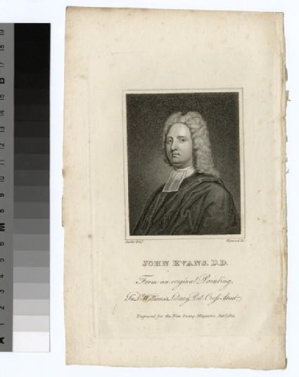 Portrait of J. Evans