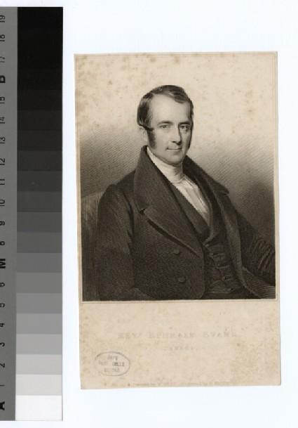Portrait of E. Evans