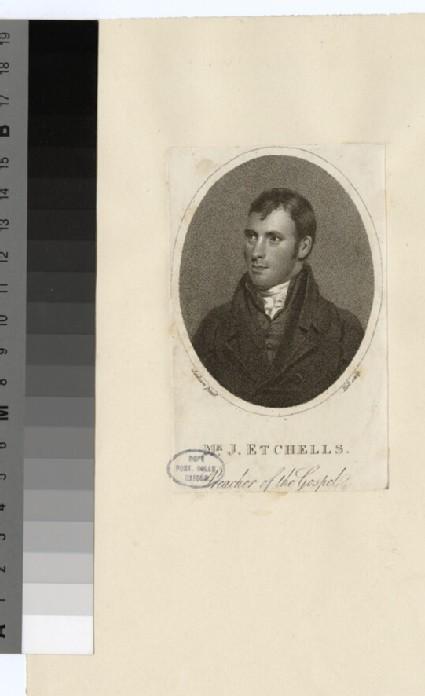 Portrait of J. Etchells