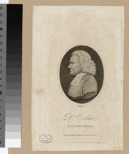 Portrait of Dr Erskine