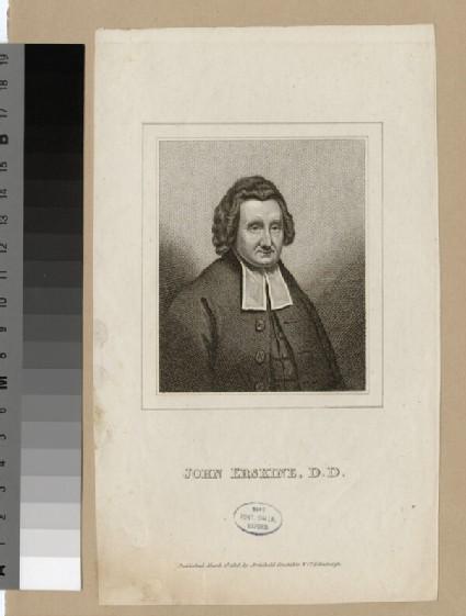 Portrait of J. Erskine