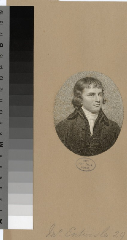 Portrait of J. Entwisle