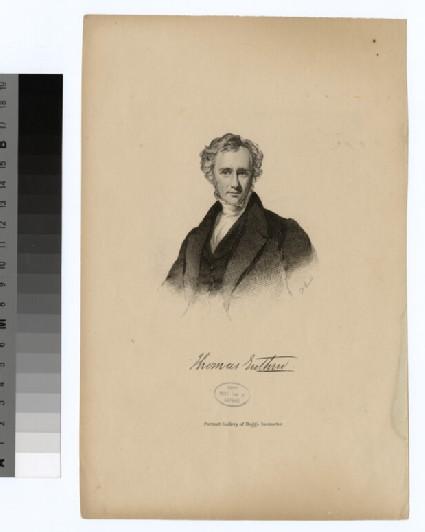 Portrait of T. Enthur