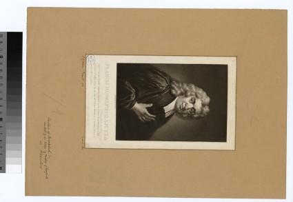 Portrait of F. Blomefield