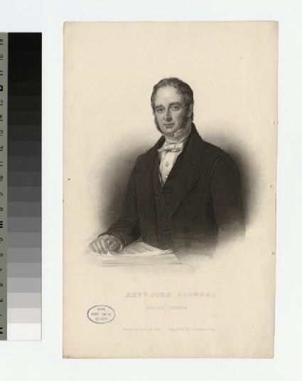 Portrait of J. Flower