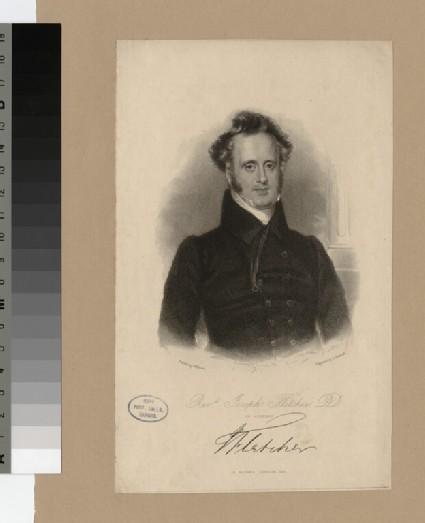 Portrait of J. Fletcher