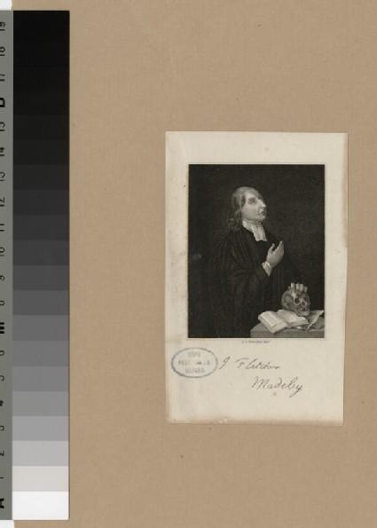 Portrait of Revd J. Fletcher