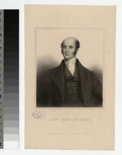 Portrait of A. Fletcher