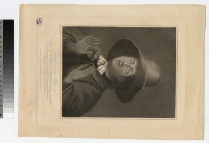 Portrait of George Fox