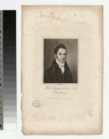 Portrait of J. Foote