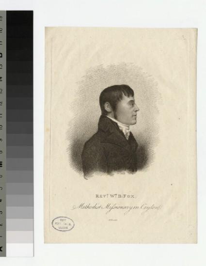 Portrait of W. B. Fox
