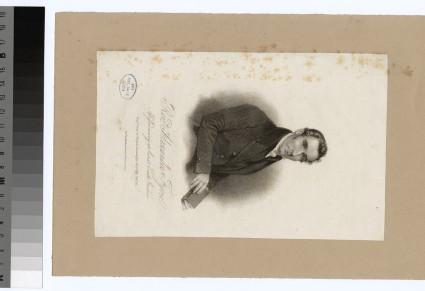 Portrait of Alexander Fyvie