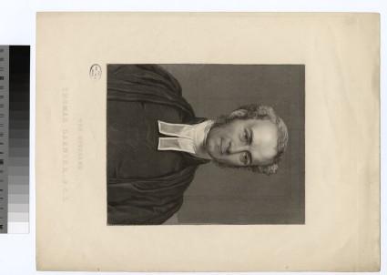 Portrait of Very Revd T. Garnier