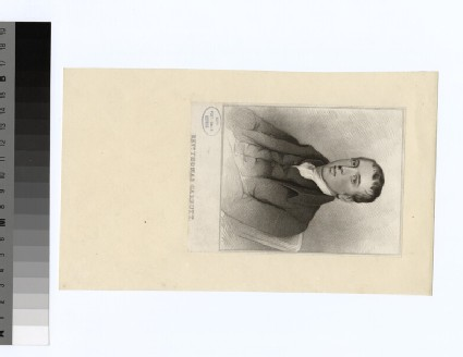 Portrait of T. Garbutt