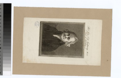 Portrait of Revd J. C. Gallaway