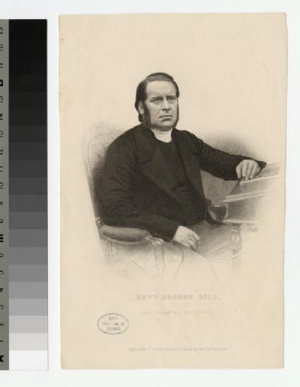 Portrait of G. Gill
