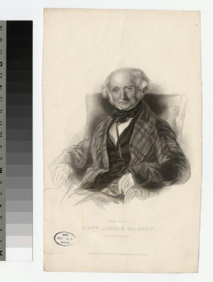Portrait of J. Gilbert