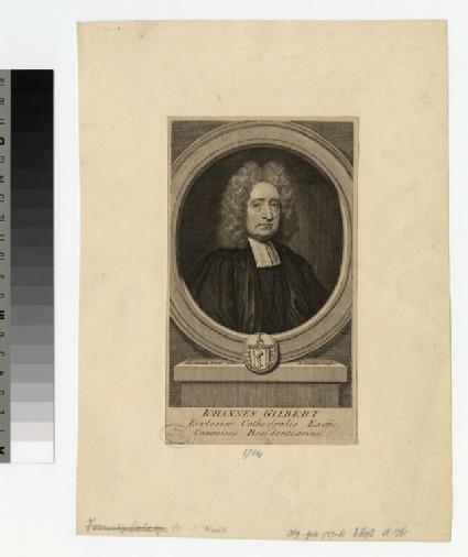 Portrait of Revd J. Gilbert