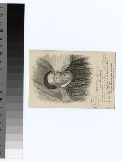 Portrait of B. Gilpin