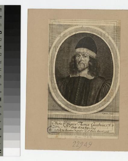 Portrait of Revd Dr T. Goodwin